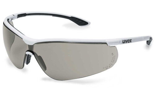 UVEX Brýle straničkové Sportstyle, PC šedý/UV 400 5-2,5; sv. extreme/ lehké / ochrana proti slunci / barva černá, bíl